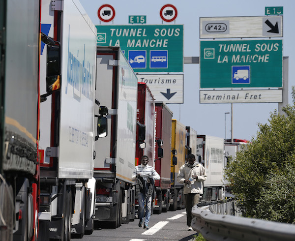 French warned Calais rest area closures could compromise driver safety
