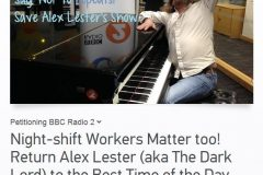 Save the Best Time of the Day show with Alex Lester