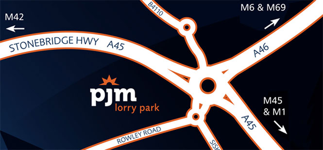 PJM Lorry Park Coventry