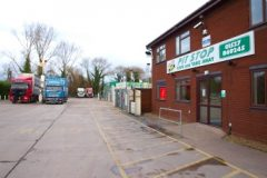 The Swan Truck Stop Transport Cafe Lorry Park