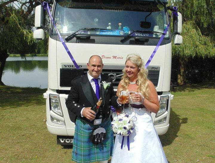 Trucking down the aisle