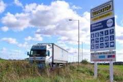 Channel Tunnel Lorry park