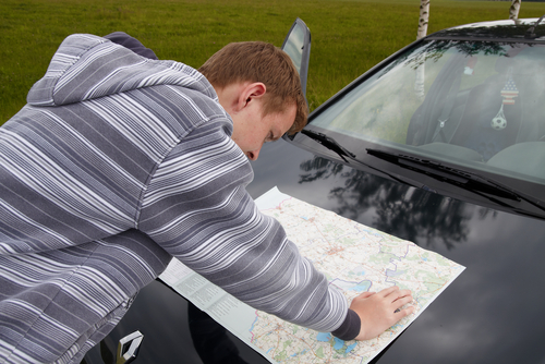 A third of Brits unable to read a map!
