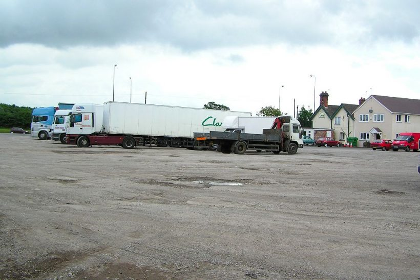 Standeford Transport Cafe Lorry Park