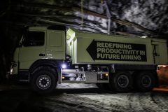 FMX heads underground as world's first self-driving mining truck