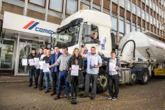 Graduation day for CEMEX driver apprentices
