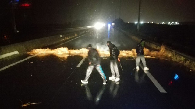 FTA calls for action after chainsaw threat to driver in Calais
