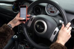 Drivers using phones four times more likely to crash, say experts