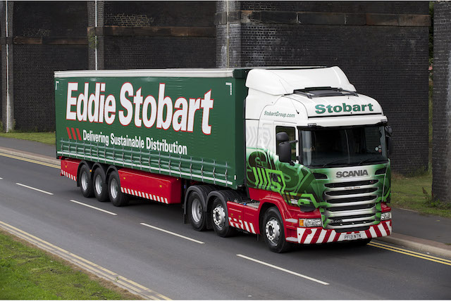 Charity auction lets you name your own Stobart truck