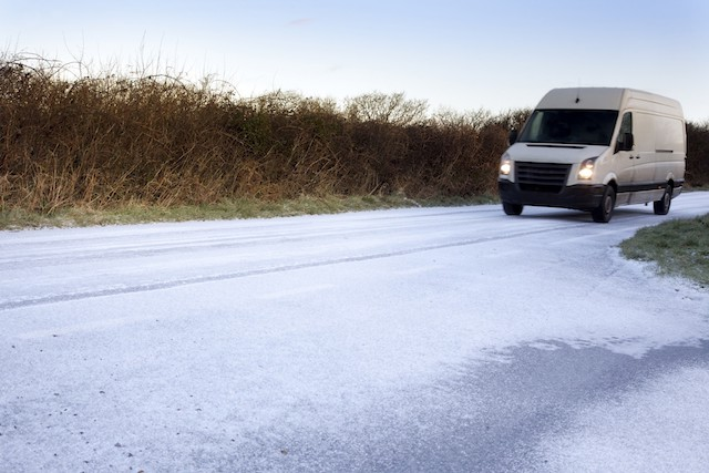 How winter weather affects driving