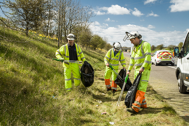 A load of rubbish: Highways England slams litter-dropping drivers