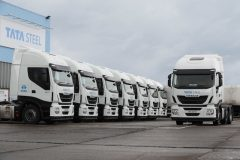 It's a steel! Tata places eight-strong Stralis order