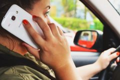 Stiffer laws now in force for drivers caught using mobiles