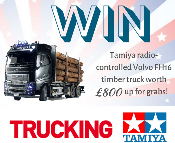 Win with Trucking magazine & Tamiya!