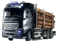 Win a Tamiya radio-controlled Volvo FH16-750 timber truck!