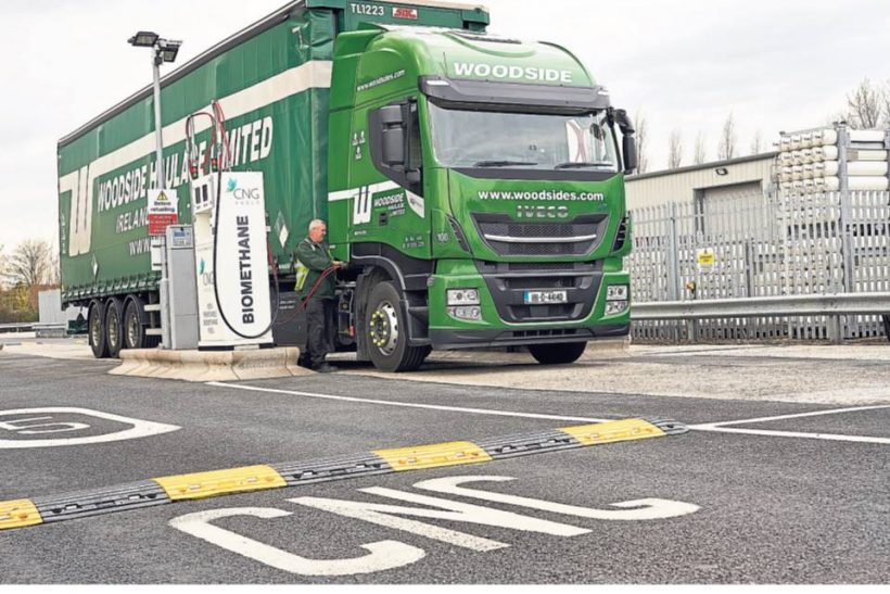 Woodside opts for gas Iveco tractor