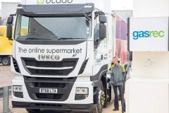 Ocado opens gas filling station