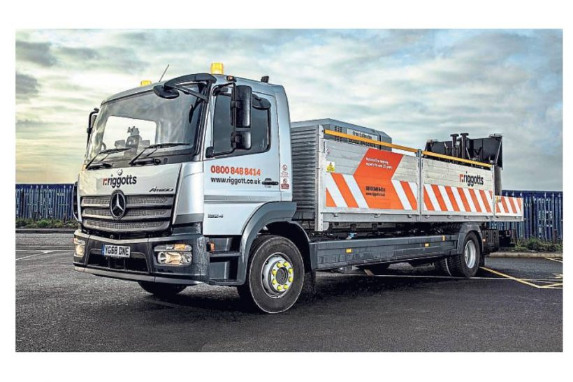 Atego keeps Riggotts on the right environmental lines