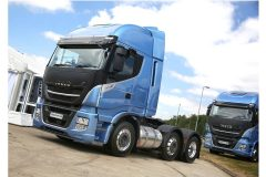 Calor tests Iveco Stralis LNG tractor unit