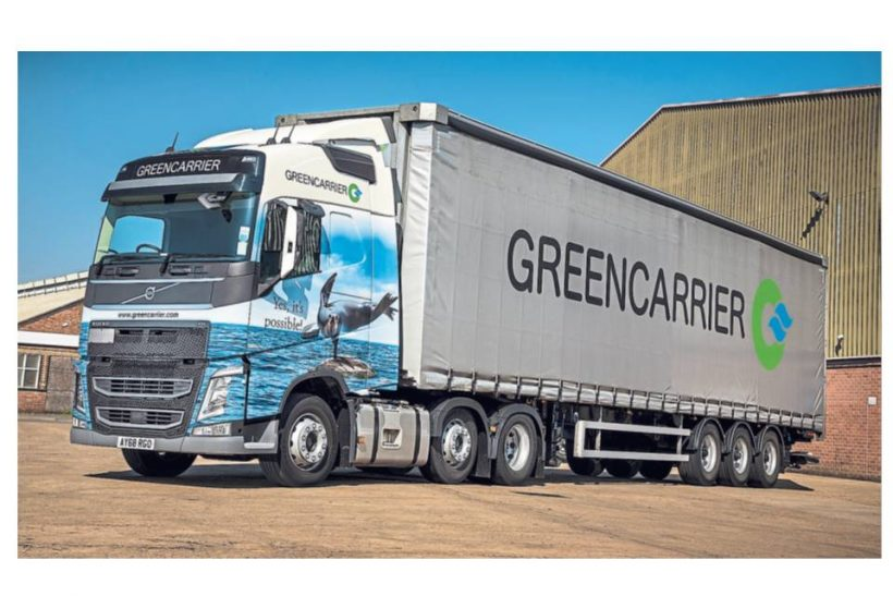 Volvo's sustainability standards suit Greencarrier